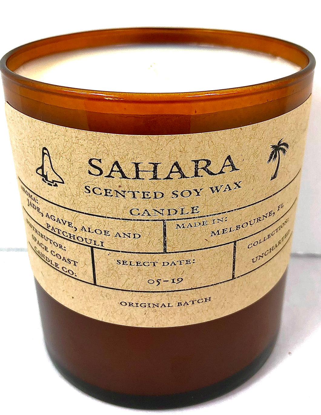 Sahara 10 oz Soy Candle - Uncharted Collection