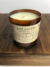 Load image into Gallery viewer, Atlantis 10 oz Soy Candle - Uncharted Collection - Space Coast Candle Co.