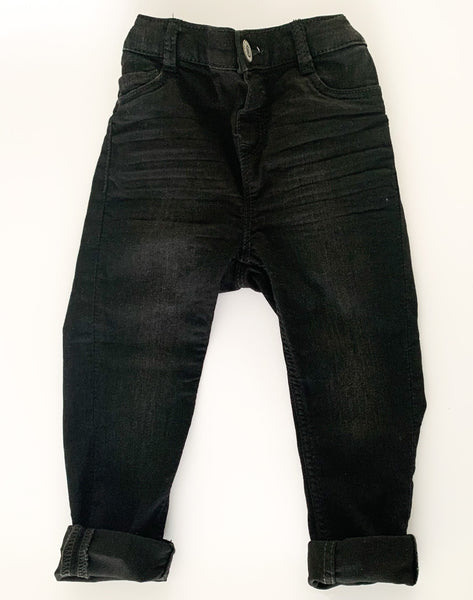 HM black denim jeans (size 1.5-2)