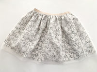 HM ghost tulle skirt ( size 4-6)