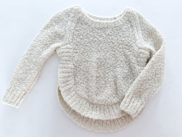 Gap boucle metallic knit sweater (size 3)