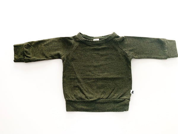 Little & Lively Forest green LS shirt
