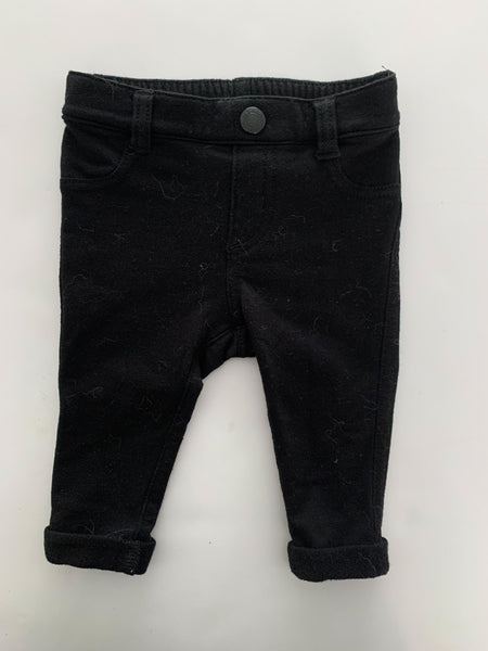 Old Navy black pants (3-6 months)