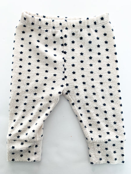 Gap fleece star leggings (3-6 months)