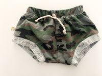 Childhoods camouflage shorties (size 4)