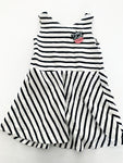 Zara navy & white stripe tank dress size: 4Y