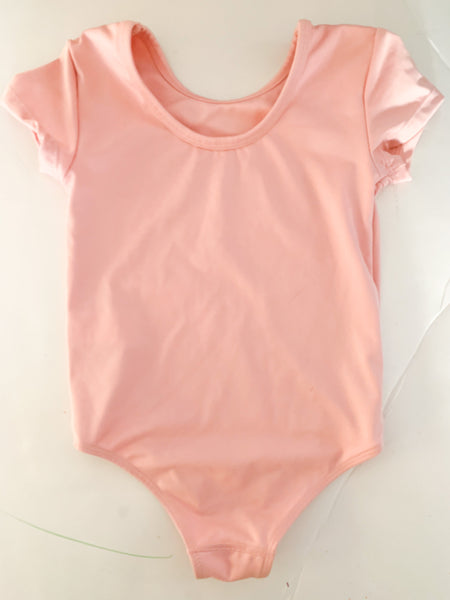 Joe fresh shirt sleeve pink body suit (size 3)