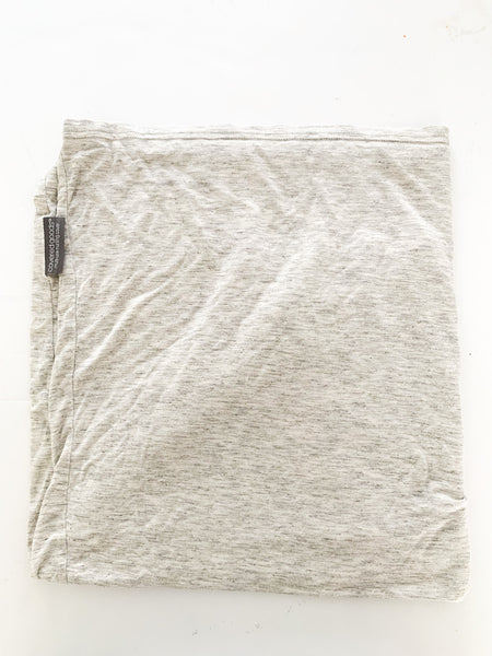 Covered Goods grey multi-use nursing and carseat size one size