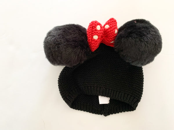 Baby Gap Minnie Mouse knit toque ~3-6 months