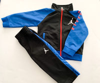 Air Jordan black and blue tracksuit (18 months)