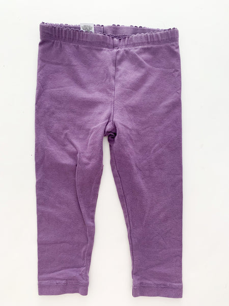 Tea purple leggings  (size 2)