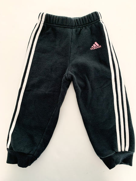 Adidas navy joggers size 2T