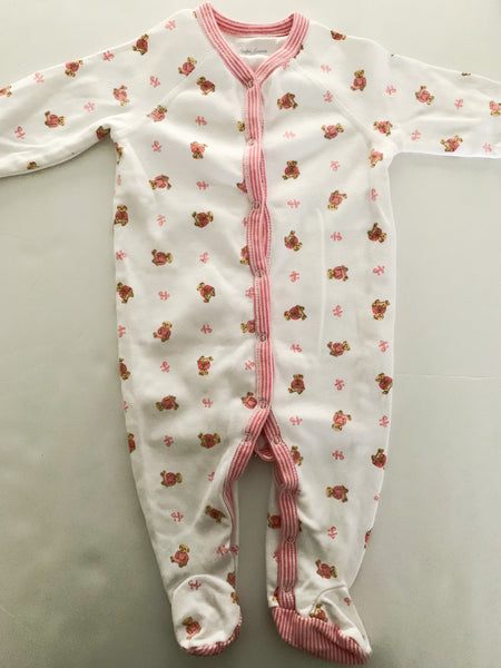 Ralph Lauren pink bear sleeper  (6 months)