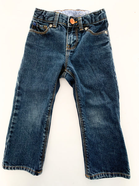 Baby Gap denim with kick flare size 2Y