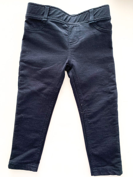 Joe Fresh navy stretch on pant ( sz 2)