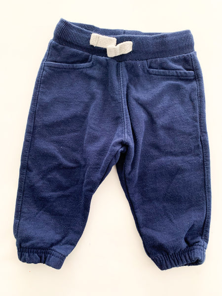 Zara navy sweat pants  (6/9 months)