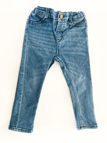 HM light faded denim jeans (size 1.5-2)