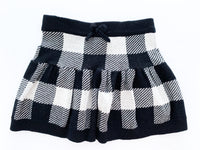 Joe fresh BW checkered knit skirt  (size 3)