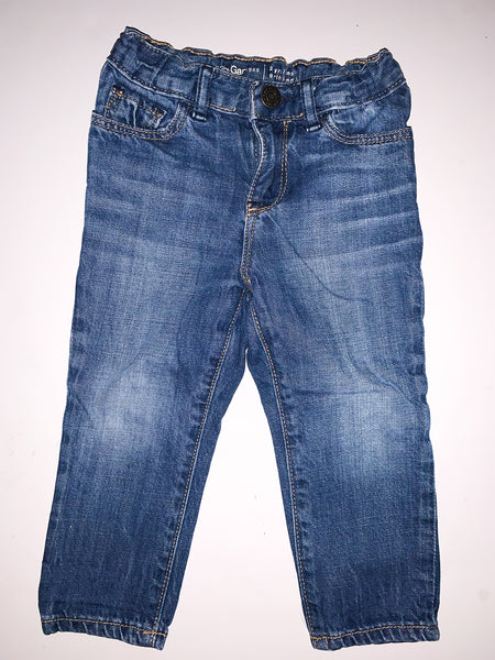 Baby Gap girlfriend denim jeans size 2Y