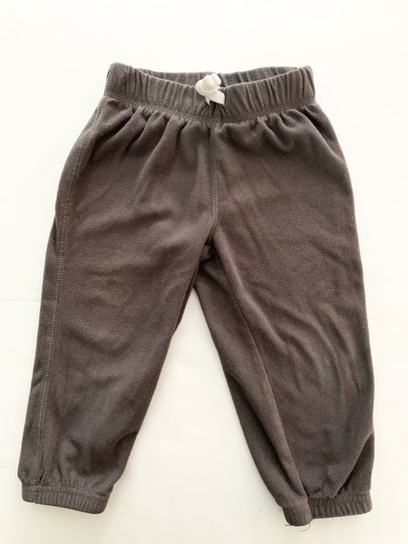 Carters grey fleece sweats (18 months)