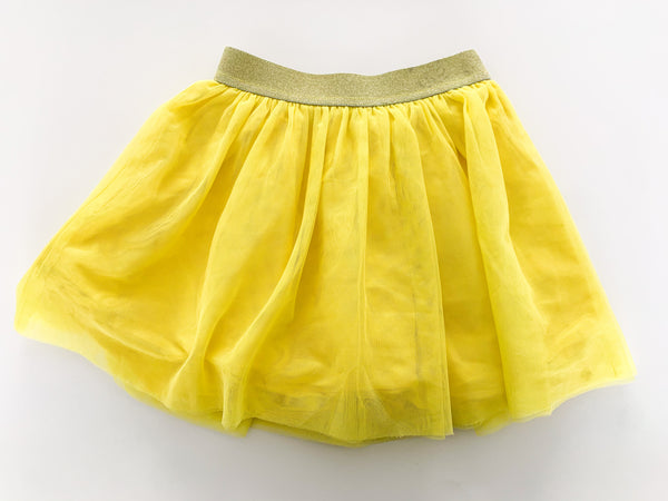 Gap yellow tulle skirt  ( size 4)