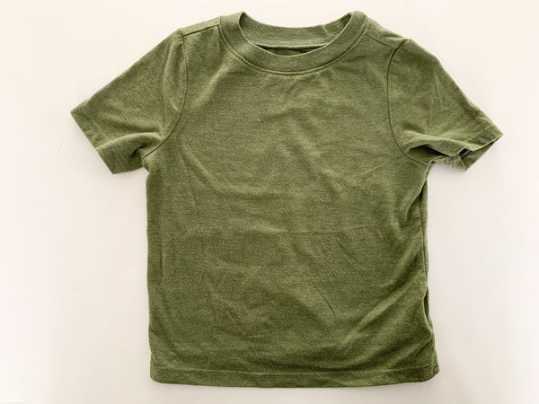 Old Navy green tee shirt size 18-24 months