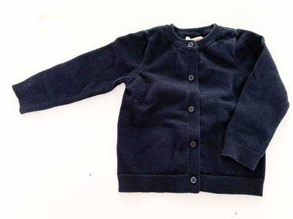 Joe fresh black cardigan (12-18 months)