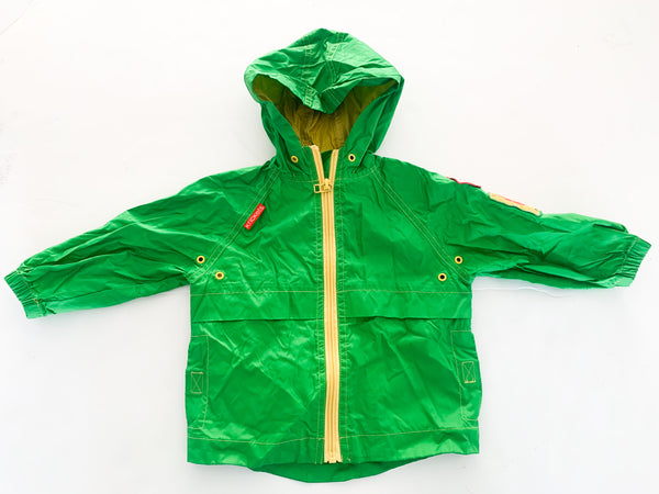 Krickets green jacket w/hood (12 months)