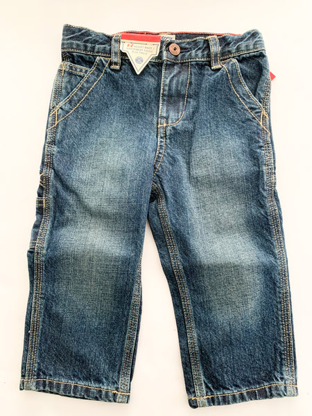 Osh kosh b'gosh carpenter jeans (18 months)