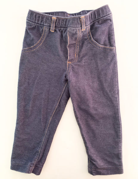Carter's soft denim leggings (12 months)