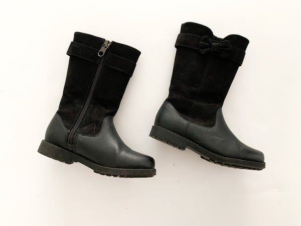 HM tall black boots (size 9)