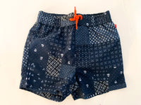 Joe fresh navy swim shorts with skulls  (12-18 months)