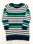 Baby Gap blue & green stripe sweater dress size: 4T