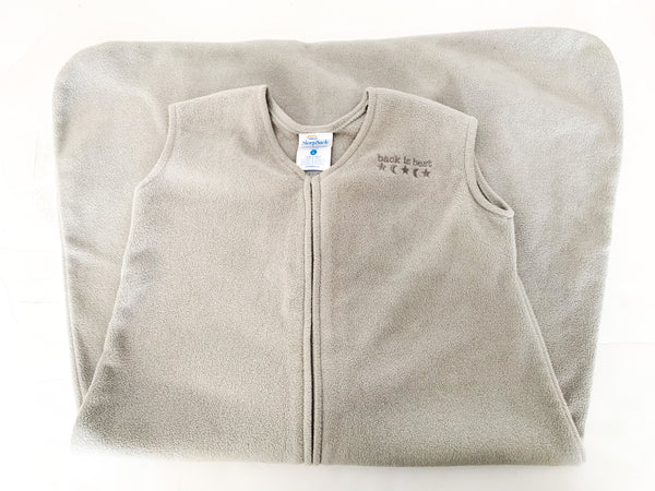 Halo sleepsac grey fleece (12-18 months)