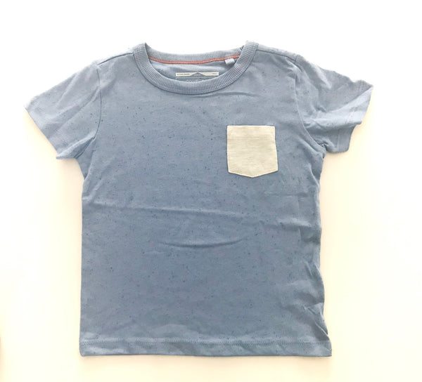 NEXT light blue tee with grey pocket