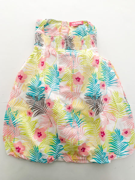 Pick Ouic tropical print sleeveless dress new with tags size 12 months