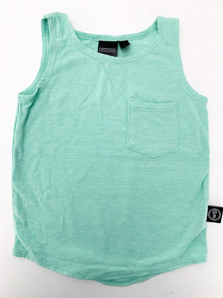 Wooly doodle green tank top (18-24 months)