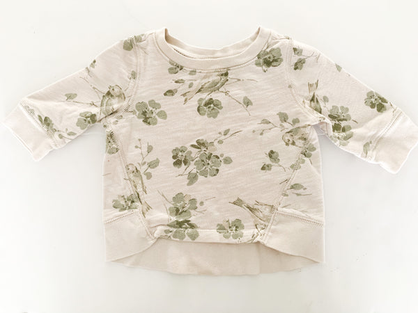 Gap floral pullover (size 2)