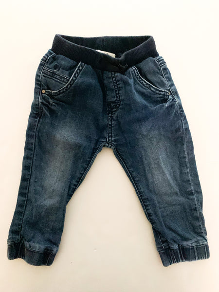 Noppies denim joggers (6-12 months)