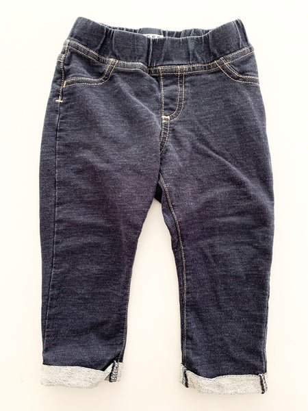 Guess soft denim leggings size 12 months