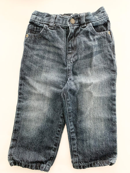 Hurley dark denim jeans (3-6 months)