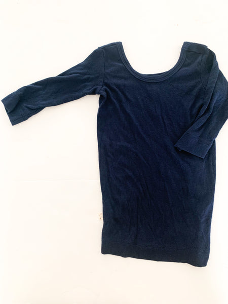 Childhoods navy ribbed  LS shirt  ( size 5)