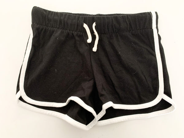 Old Navy black & white athletic shorts size M (8Y)