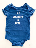 "Indigo ""the snuggle is real"" onesie (6-12 months)"