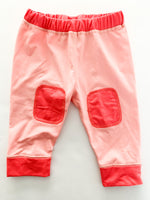 Patagonia pink capilene baseline bottoms (3-6 months)