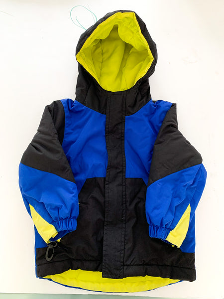 Children's Place blue & black colour winter jacket size 3T