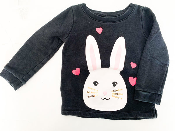 Carters bunny pullover (size 3)