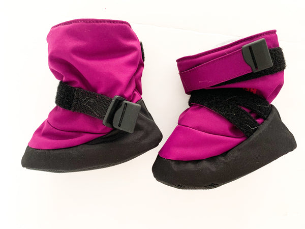 MEC purple toaster booties  (size 4-6)