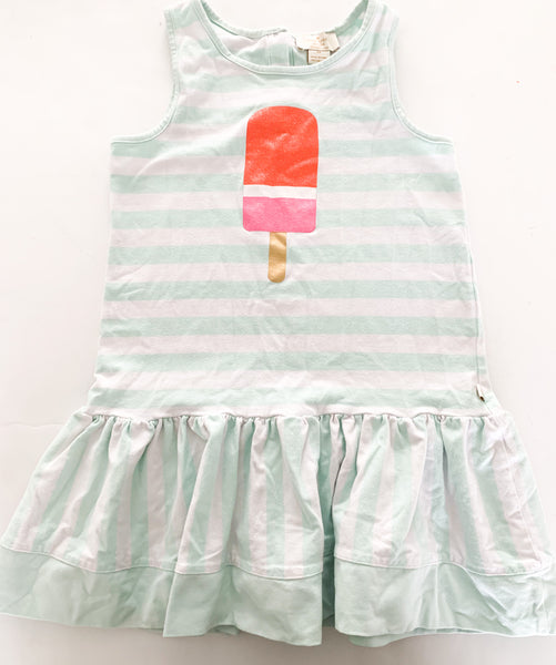 Kate spade popsicle dress w/mint green stripes  ( sz 6)