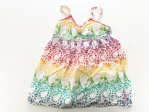 Mexx rainbow color tank dress (24-30 months)